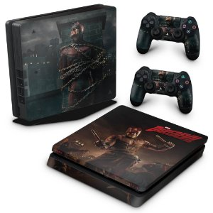 PS4 Slim Skin - Daredevil Demolidor