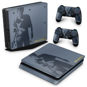 PS4 Slim Skin - Uncharted 4 Limited Edition