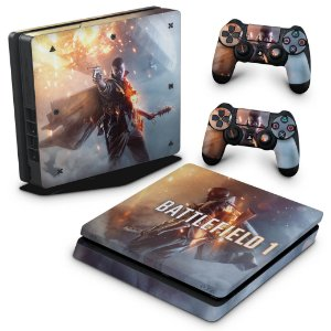 PS4 Slim Skin - Battlefield 1