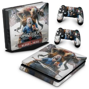 PS4 Slim Skin - The Witcher 3: Wild Hunt - Blood and Wine