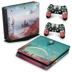 PS4 Slim Skin - No Man's Sky