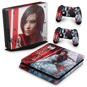 PS4 Slim Skin - Mirror's Edge Catalyst