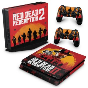 PS4 Slim Skin - Red Dead Redemption 2