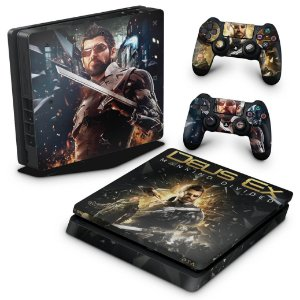 PS4 Slim Skin - Deus Ex: Mankind Divided
