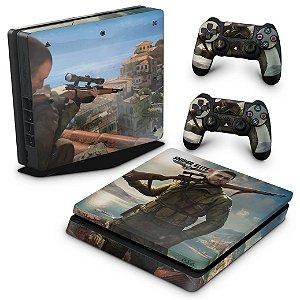 PS4 Slim Skin - Sniper Elite 4