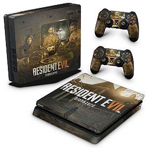PS4 Slim Skin - Resident Evil 7: Biohazard