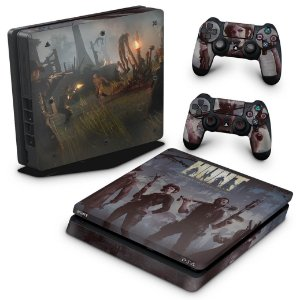 PS4 Slim Skin - Hunt: Horrors of the Gilded Age