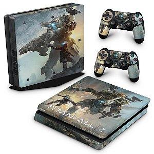 PS4 Slim Skin - Titanfall 2 #a