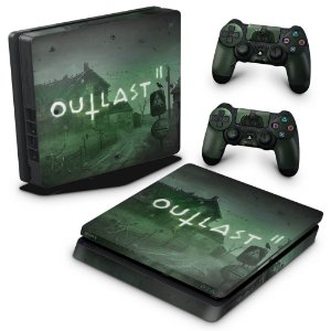 PS4 Slim Skin - Outlast 2