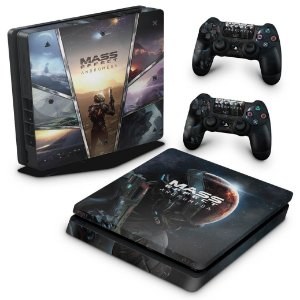 PS4 Slim Skin - Mass Effect: Andromeda