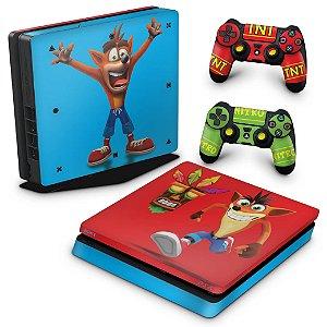 PS4 Slim Skin - Crash Bandicoot