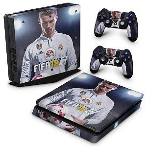 PS4 Slim Skin - Fifa 18