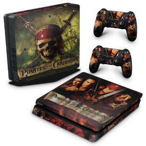 PS4 Slim Skin - Piratas do Caribe