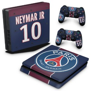 PS4 Slim Skin - Paris Saint Germain Neymar Jr PSG