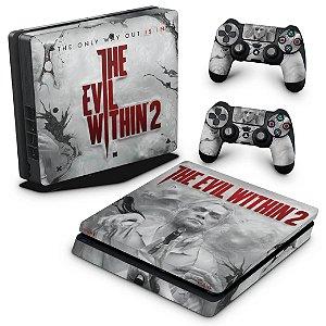 PS4 Slim Skin - The Evil Within 2