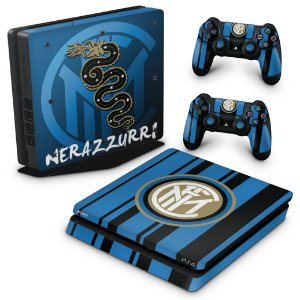 PS4 Slim Skin - Inter de Milao FC