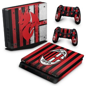 PS4 Slim Skin - AC Milan