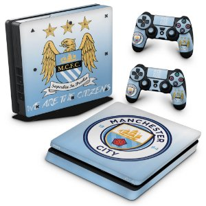 PS4 Slim Skin - Manchester City FC