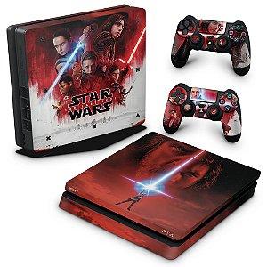 PS4 Slim Skin - Star Wars The Last Jedi