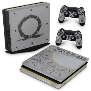 PS4 Slim Skin - God Of War Limited Edition