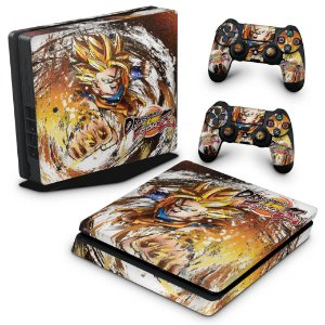 PS4 Slim Skin - Dragon Ball FighterZ
