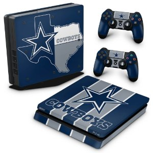 PS4 Slim Skin - Dallas Cowboys NFL