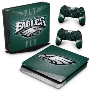 PS4 Slim Skin - Philadelphia Eagles NFL