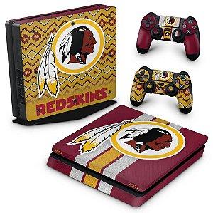 PS4 Slim Skin - Washington Redskins NFL