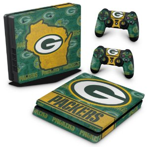PS4 Slim Skin - Green Bay Packers NFL