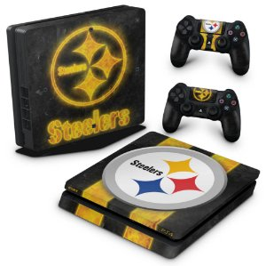 PS4 Slim Skin - Pittsburgh Steelers - NFL