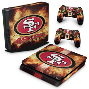 PS4 Slim Skin - San Francisco 49ers - NFL