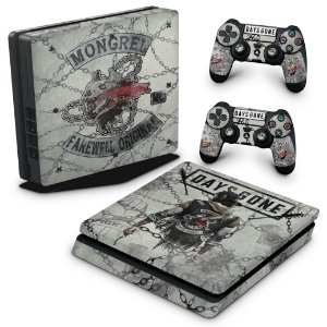 PS4 Slim Skin - Days Gone