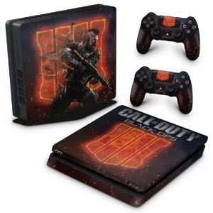 PS4 Slim Skin - Call of Duty Black Ops 4