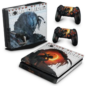 PS4 Slim Skin - Shadow Of The Tomb Raider