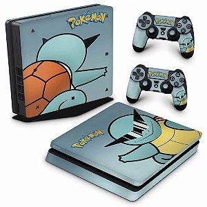 PS4 Slim Skin - Pokemon Squirtle