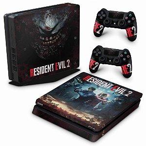 PS4 Slim Skin - Resident Evil 2 Remake