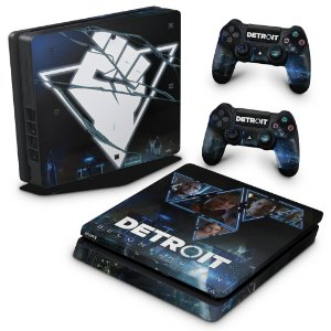 PS4 Slim Skin - Detroit Become Human