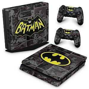 PS4 Slim Skin - Batman Comics