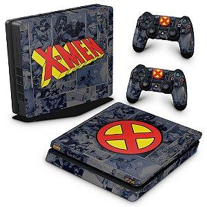 PS4 Slim Skin - X-Men Comics