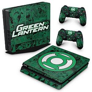 PS4 Slim Skin - Lanterna Verde Comics