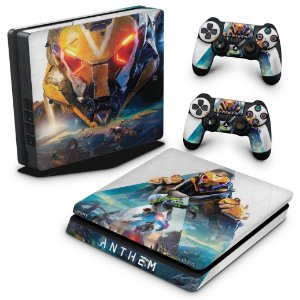 PS4 Slim Skin - Anthem