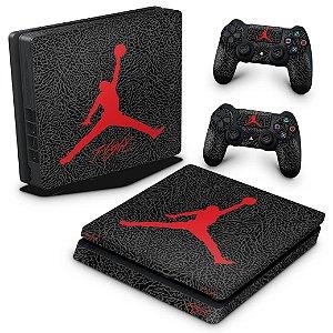 PS4 Slim Skin - Air Jordan Flight