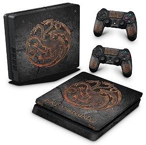 PS4 Slim Skin - Game of Thrones Targaryen