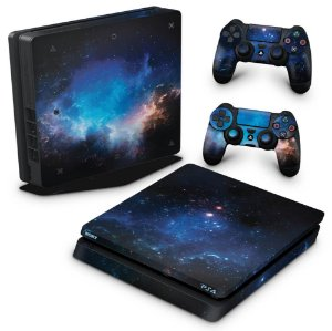 PS4 Slim Skin - Universo Cosmos