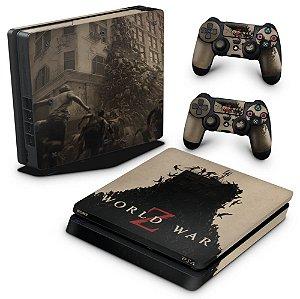 PS4 Slim Skin - World War Z