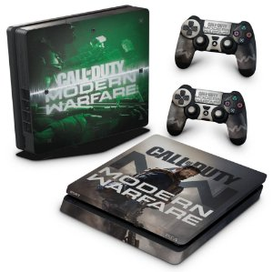 PS4 Slim Skin - Call Of Duty Modern Warfare