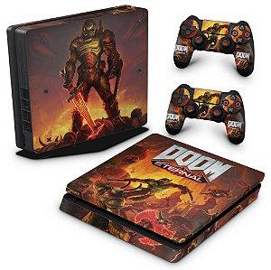 PS4 Slim Skin - Doom Eternal