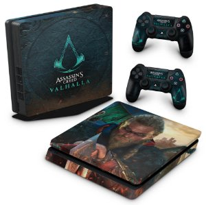 PS4 Slim Skin - Assassin's Creed Valhalla