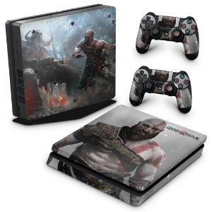 PS4 Slim Skin - God Of War #B