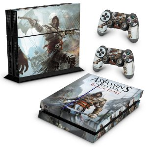Ps4 Fat Skin - Assassins Creed Black Flag